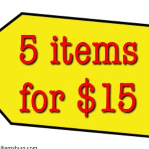 Other - Choose 5 items for $15 😃😃